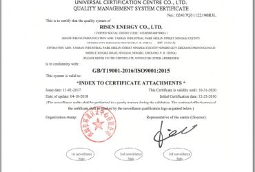 Chứng nhận ISO9001