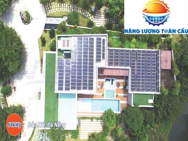 điện mặt trời hòa lưới 65KWp tại Đà Nẵng
