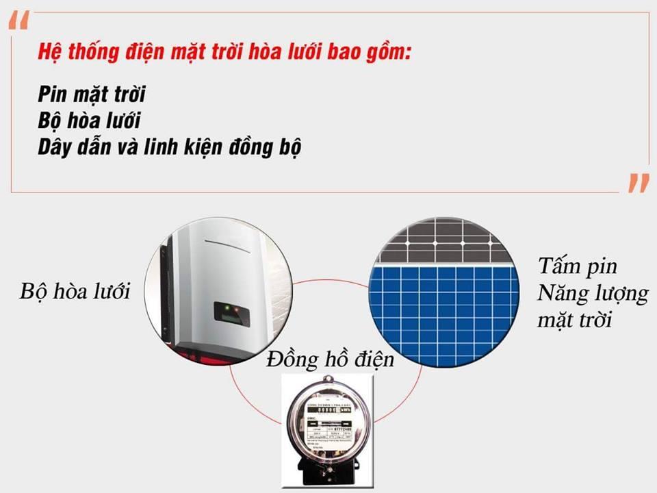 Lắp đặt điện mặt trời gia đình