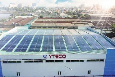 Dự án điện mặt trời trên mái nhà xưởng YTECO