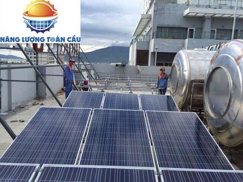 lắp đặt điện mặt trời khách sạn