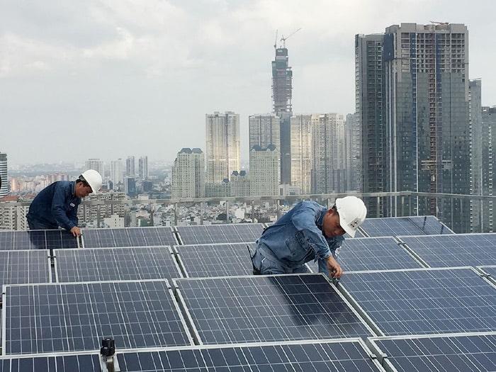 Lắp đặt pin mặt trời giá rẻ Biên Hòa