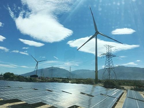 nhà máy điện mặt trời ninh thuận