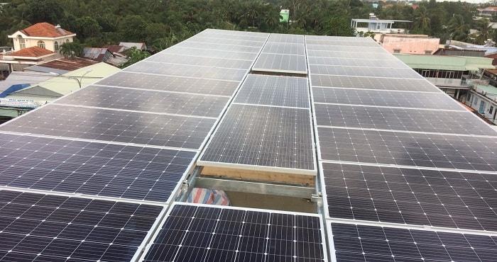 phát triển điện mặt trời