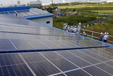 Dự án điện mặt trời mái nhà xưởng công ty Dinsen