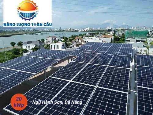 điện mặt trời 20kwp đà nẵng