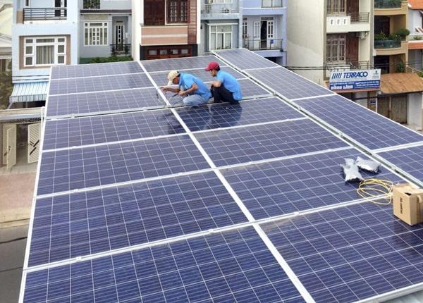 lắp đặt điện mặt trời tại Bình Phước