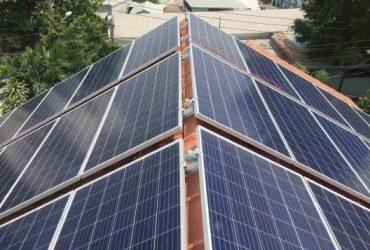 Lắp đặt điện mặt trời tại Bình Thuận