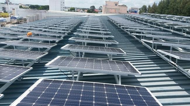 Lắp đặt pin mặt trời tại Vũng Tàu