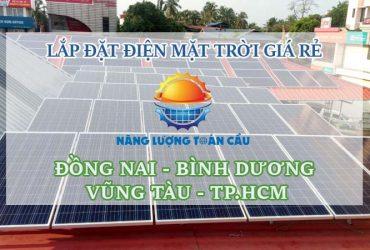 Lắp đặt điện mặt trời thành phố Long Khánh Đồng Nai