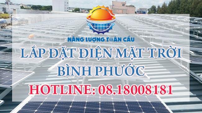 Lắp đặt hệ thống điện mặt trời Bình Phước