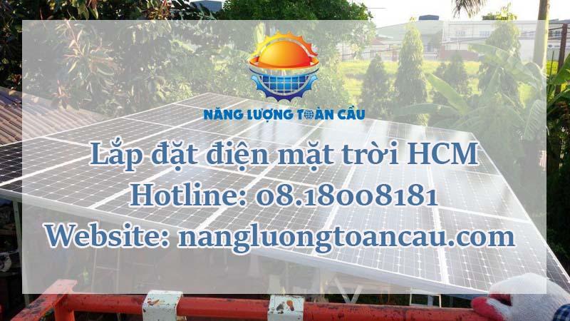 Lắp đặt hệ thống điện mặt trời HCM