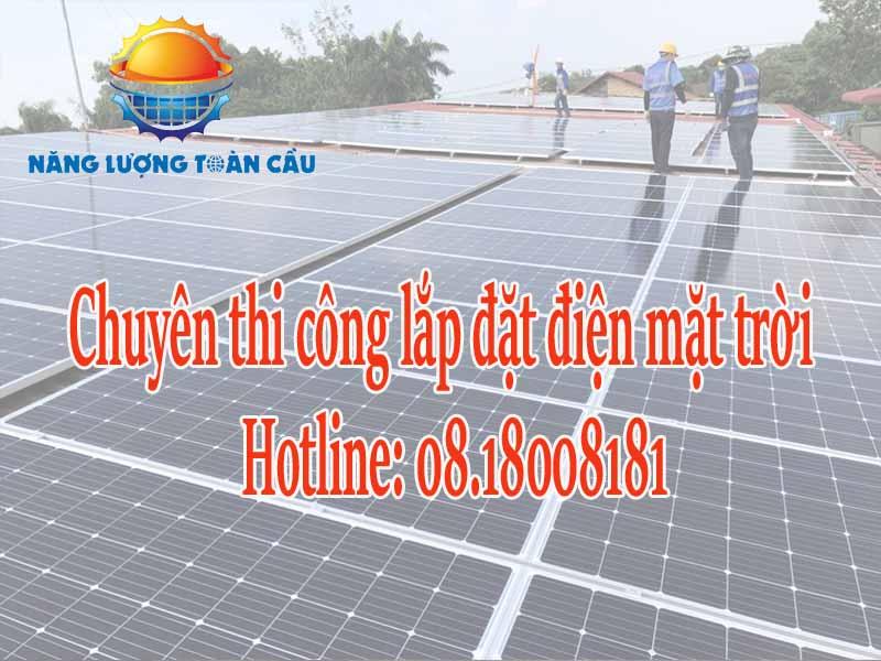 Lắp đặt hệ thống điện mặt trời tại Vũng Tàu