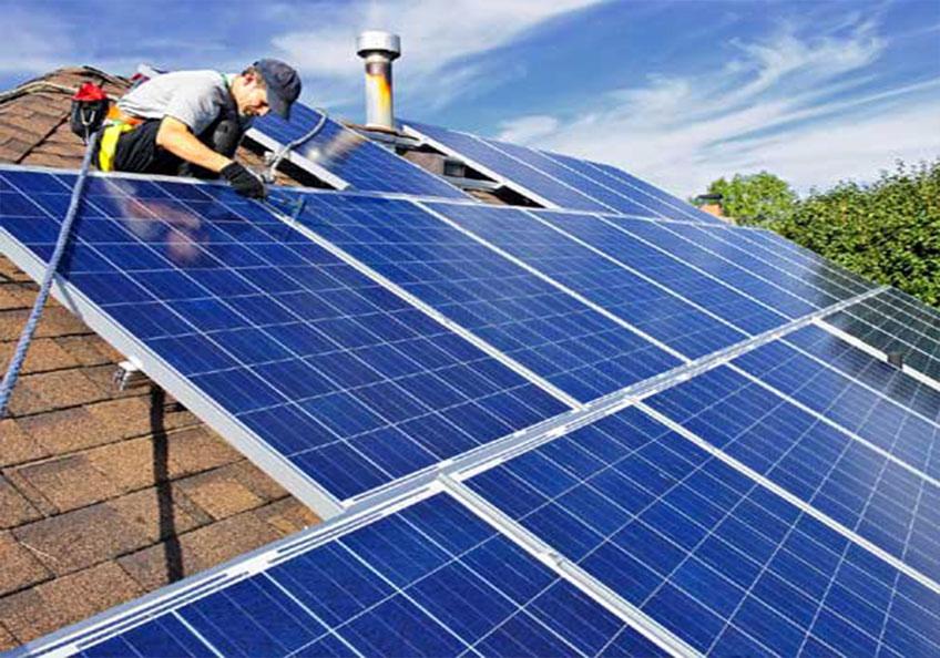 lắp đặt điên năng lượng mặt trời