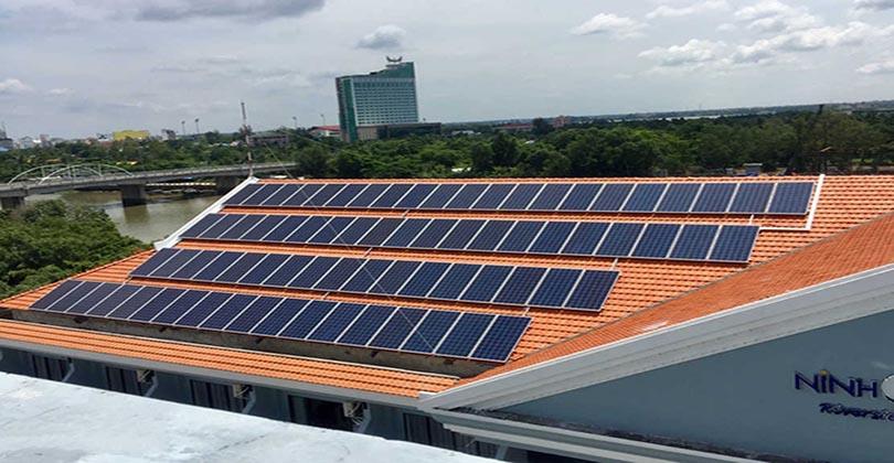 Lắp đặt điện năng lượng mặt trời 5KW